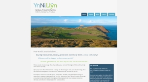 Ynni Llyn website screengrab