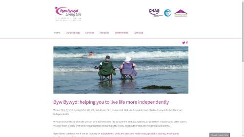 Byw Bywyd website by WP Websites Wales